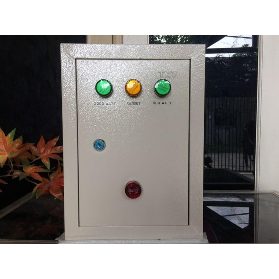 Panel Kontrol ATS Switch